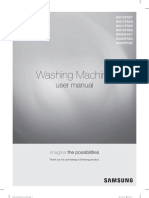 Washing Machine User Manual Samsung