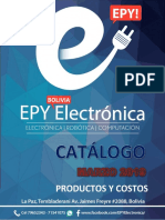 Catálogo de productos electrónicos
