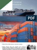 Evolución Del Comercio Marítimo Mundial y Mexico