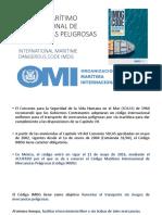 Código Marítimo Internacional de Mercancías Peligrosas y Mexico