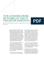BCG Ten Lessons From 20 Years of Value Creation Insights Nov 2018 Tcm21 208175