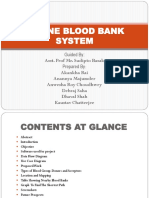 Online blood bank System