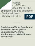 WASH Sindhupalchowk