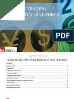 Guide de Trading Debutant Sur Le Forex