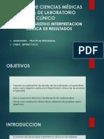COPRODIGESTIVO INTERPRETACION CLINICA DE RESULTADOS