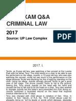 BAR Q&A CRIMINAL LAW 2017.pptx