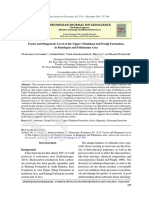 Facies and Diagenetic Level of the Upper Cibulakan and Parigi Formation