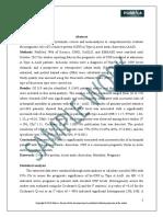 Statistics Meta Analysis Sample Work | Pubrica