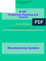 Lecture 2 Manufacturing Systems