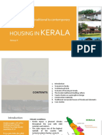 Housing - traditional to contemporary - Kerala.pptx