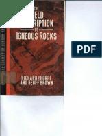 Richard Thorpe_The field description of igneous rocks.pdf