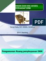 Pengamanan & Hak Akses Terhadap DRM