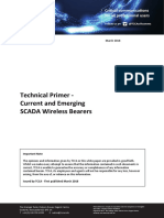 2018 March Technical Primer Current and Emerging SCADA Wireless Bearers