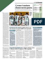 La Provincia Di Cremona 06-04-2019 - Serie B