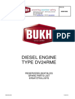 Spare Part List BUKH DV 24 RME