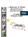Solar Greenhouse Construction Manuel; by Vincent Stauffer