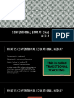 Conventional Educational Media