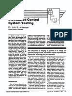 DCS testing