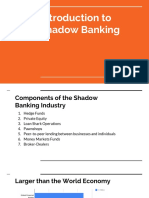 Introduction to Shadow Banking