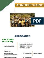 CREDITO AGRICOLA - AGROBANCO