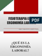 Fisioterapia en La Ergonomía Laboral