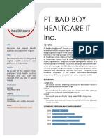 BadBoy HealthCare IT