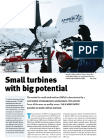 Small Turbines With Big Potential