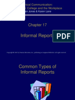 PPTCh017 Technical Reports