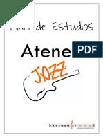 Plan de Estudios Ateneo JAZZ