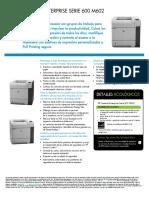HP Laserjet Enterprise 600 M602 Series