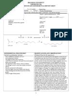 Exp7 Fischer Esterification