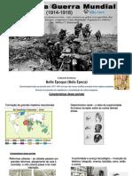 Primeira Guerra Mundial 9 Ano