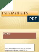 Osteoarthritis