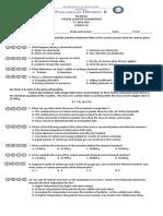 4thquarter Exam Science 10
