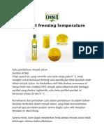 Olive oil freezing temperature.docx