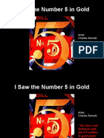 I Saw the 5 in Gold