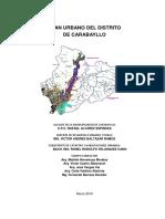 Plan Urbano Del Distrito Carabayllo_2010