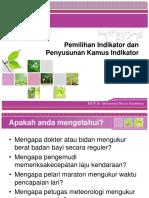 03. Pemilihan indikator dan penyusunan kamus indikator.pptx