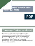APBN & APBD
