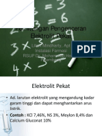 Perhitungan Pengenceran Elektrolit Pekat.ppt