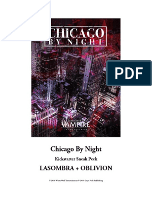 Chicago V5 Preview - Lasombra | Shadow