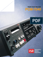 Sony PCM 7040