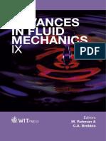 Advances in b Fluid b Mechanics