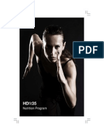HDfit35 Nutrition Plan