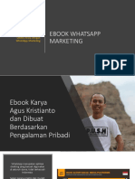 eBook Whatsapp Marketing - New