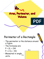 Area Perimeter and Volume 1