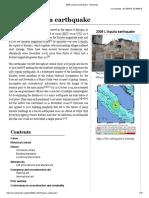 2009 L'Aquila Earthquake - Wikipedia