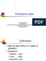 Lecture-20 Premature Labor