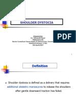 Lecture-17 Shoulder Dystocia