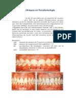 Cas Cliniques en Parodontologie